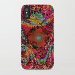 Foxy rainbow galaxy iPhone Case