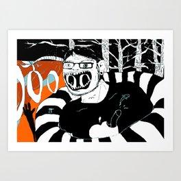 S.O.S, MF. Art Print