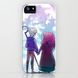 Jarida Moon iPhone Case