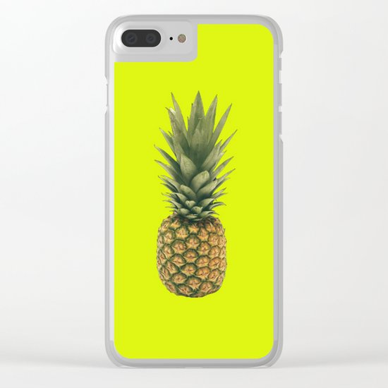 Sweet Pineapple Clear iPhone Case