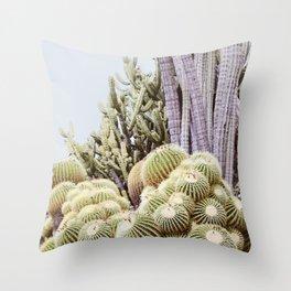 Cactus Garden #2 Throw Pillow