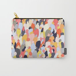 Crowded Carry-All Pouch