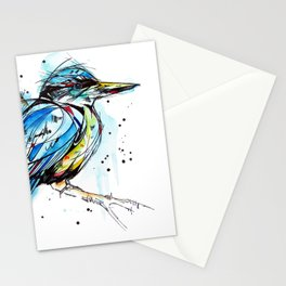 Bold Kingfisher  Stationery Cards