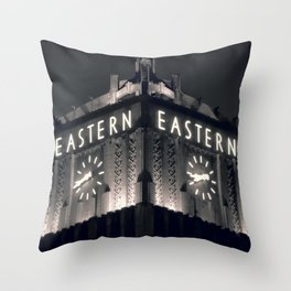 Eastern Building - Los Angeles, CA Throw Pillow