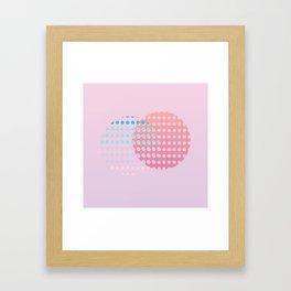 Holographic dream Framed Art Print