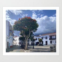Santa Cruz de La Palma Art Print