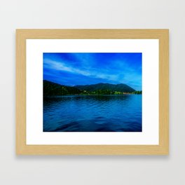 Bavaria Lake Schliersee Framed Art Print