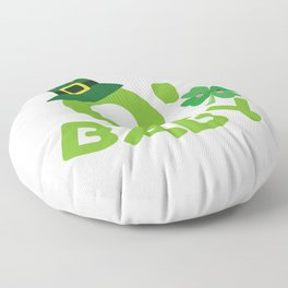 O' Baby St. Patrick's Day Mom To Be New Mom Floor Pillow