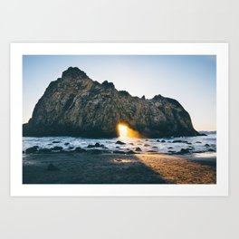 Pfeiffer Beach Art Print