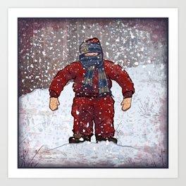 Randy's Suit Art Print