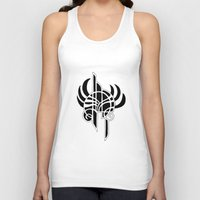 angel Tank Tops featuring Angel by Abundance