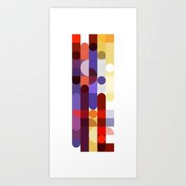 Elemental Color I Abstract Art Print