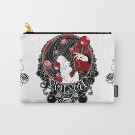 Poison - Black Rose Carry-All Pouch