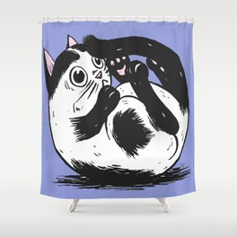 What is that thing?! Shower Curtain