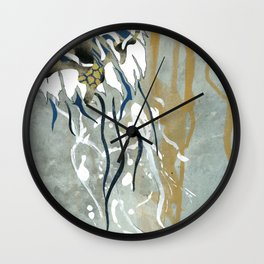 Jellyfish Voyage Wall Clock