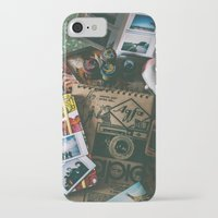 cameras iPhone & iPod Cases featuring Cameras by Roxana Rios