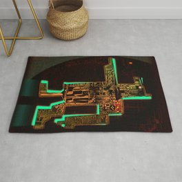 Spatial Robotic City Lab Rug
