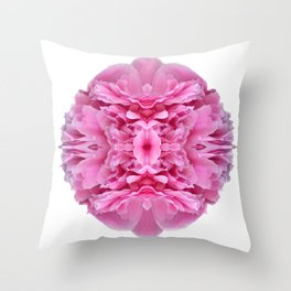 My Personal Peony Throw Pillow