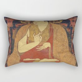 Zen Buddha Garden Rectangular Pillow