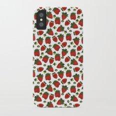 Strawberry Pattern Slim Case iPhone X