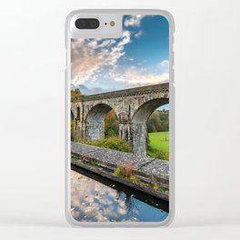 Chirk Aqueduct And Viaduct Clear iPhone Case