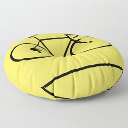 Bicycle Floor Pillow