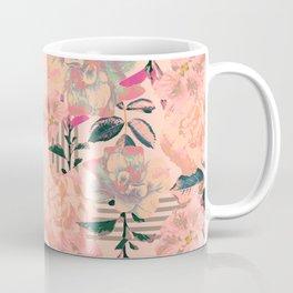 Symmetrical Bloom Coffee Mug