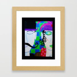 A moment of silence by Anthony Davais Framed Art Print