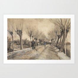 Road in Etten Art Print