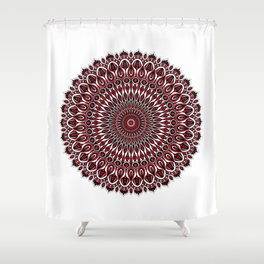 Enticing red Shower Curtain