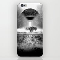 tree of life iPhone & iPod Skins featuring Life Tree by Murat Erturk