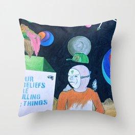 Ethos-06.23-7339 Throw Pillow