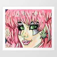 jem Art Prints featuring Jem by MSG Imaging