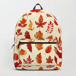 Autumn Leaves Pattern  Backpack