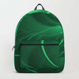 Green Spiral Backpack