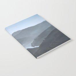 Blue landscape Notebook
