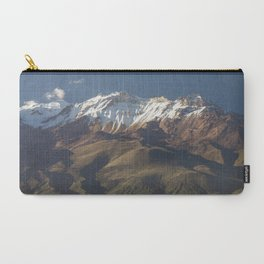 Volcano Chachani near city of Arequipa in Peru Carry-All Pouch