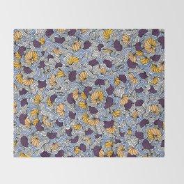 Being a Little Shellfish Throw Blanket