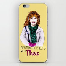 Everything get's better with MUSIC iPhone & iPod Skin