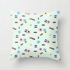 sweet things: allsorts Throw Pillow
