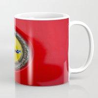 ferrari Mugs featuring Ferrari Dino by Rainer Steinke