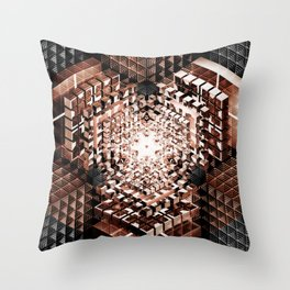 Core & Catharsis Throw Pillow