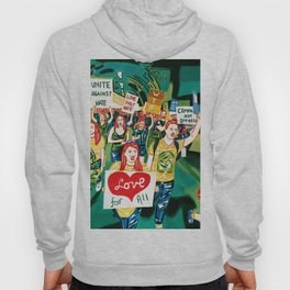 """""""The fight never ends"""" Hoody"""
