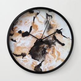 All That Glitters is Gold Wall Clock