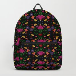 Colorful Mexican Embroidery Backpack