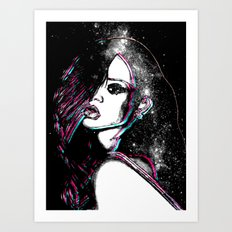 Diamonds In The Sky. Art Print