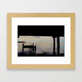 Under the Bridge II Framed Art Print