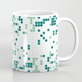 Tiny circles gradient Coffee Mug