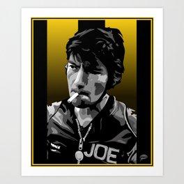 J Dunlop Art Print