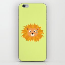 Sweating lion head T-Shirt for all Ages D3qq6 iPhone Skin